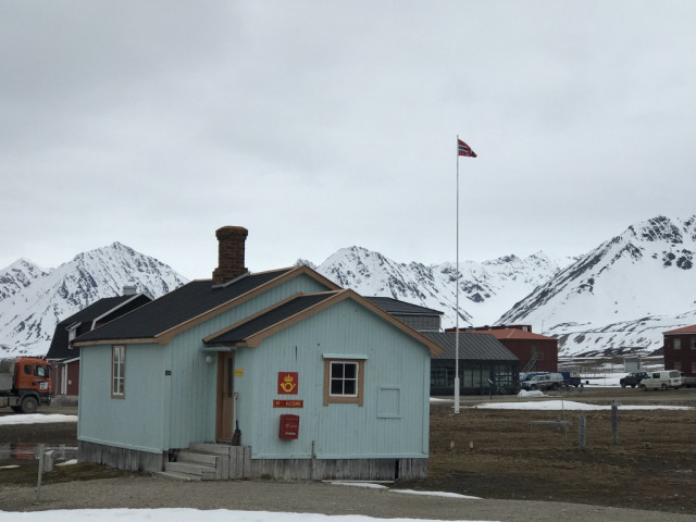 The most northerly post office on the planet